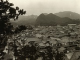 Housetop View of Shimoda Photographic Print