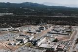 Aerial View of Los Alamos Scientific Laboratory Photographic Print