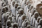 Terracotta Soldiers at Qin Shi Huangdi Tomb Photographic Print