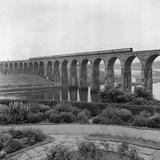 Royal Border Bridge, Berwick Upon Tweed, Northumberland Photographic Print by Eric De Mere