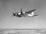 De Havilland Mosquito in Flight Photographic Print