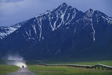 Dalton Highway and Brooks Range Fotografie-Druck