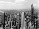 Manhattan from Rockefeller Center Photographic Print