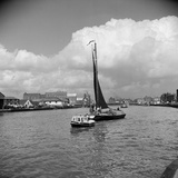 River Yare, Great Yarmouth, Norfolk Photographic Print by Hallam Ashley