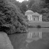 Pantheon, Stourhead Park, Stourton, Wiltshire Photographic Print by Eric De Mere