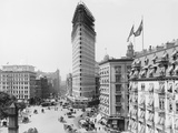 Flatiron Building under Construction Photographic Print