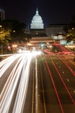 New York Avenue and U. S. Capitol Building Photographic Print