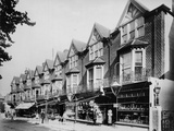Grove Road, Eastbourne, East Sussex Photographic Print by H. Bedford Lemere