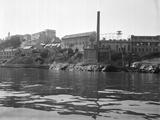 Buildings on Alcatraz Photographic Print
