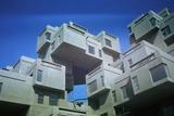 Habitat 67 Apartments Built for 1967 Exposition Photographic Print
