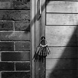 A Set of Keys in a Doorway at Heathrow Primary School, Hillingdon Photographic Print by John Gay