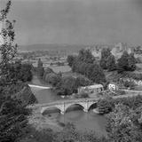 Dinham Bridge, Ludlow, Shropshire Photographic Print by Eric De Mere