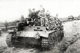 A German Panzer Pz Kpwiii Ausfe Tank Reprodukcja zdjęcia