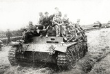 A German Panzer Pz Kpwiii Ausfe Tank Photographic Print