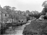 Arlington Row, Bibury, Gloucestershire Photographic Print by Henry Taunt