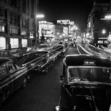 Piccadilly, London. Stationary Traffic Along a Busy Piccadilly at Night Photographic Print by John Gay