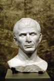 Marble Bust of Julius Caesar from the Rhone River Photographic Print