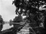 River Thames Near Sonning, Berkshire Photographic Print by Henry Taunt