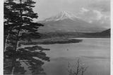 Mount Fuji and Surrounding Landscape Photographic Print