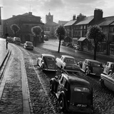 Market Street, Alnwick, Northumberland, Looking West Along Market Street Photographic Print by John Gay