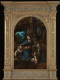 Virgin of the Rocks Photographic Print by  Leonardo da Vinci