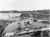 Delta Dam Photographic Print