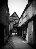 Abbot Reginald's Gate, Old Rectory, Evesham, Worcestershire, the Norman Gateway Photographic Print by Henry Taunt