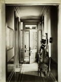 Grand Avenue, Hove, East Sussex, Interior of the Entrance Hall Looking Towards the Front Door Photographic Print by H. Bedford Lemere