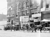 Businesses on Fillmore Street Fotografisk tryk