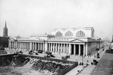 Exterior View of Pennsylvania Railroad Station Photographic Print