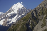 Mount Cook and Southern Alps Photographic Print