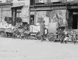 Peddlers on Hester Street Photographic Print