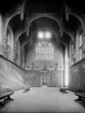 Great Hall, Hampton Court Palace, Richmond-Upon-Thames, London Photographic Print by H. Bedford Lemere