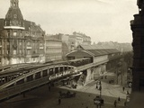 Danziger Street Railway Station Photographic Print