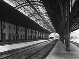 Interior of Portbou Railway Station Photographic Print