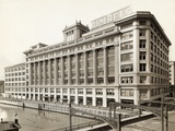 Exterior View of Gimbels Department Store Photographic Print