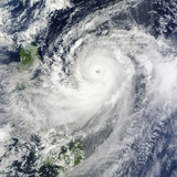 Super Typhoon Jelawat (18W) in the Philippine Sea Photographic Print