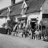 Ludham, Norfolk, Hardware Shop with Goods on Display Photographic Print by Hallam Ashley