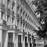 A Terrace of Four-Storey Houses Decorated in the Neo-Classical Style Photographic Print by John Gay