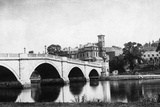 Richmond Bridge, Richmond Upon Thames, London Photographic Print by Henry Taunt