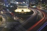 Namdaemun Gate at Night Photographic Print