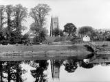 Abbey Park, Evesham, Worcestershire Photographic Print by Henry Taunt