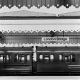 London Bridge Station, Southwark, London Photographic Print by John Gay