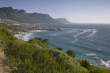 Camps Bay and Twelve Apostles Mountains Photographic Print