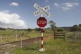 Railroad Crossing Photographic Print