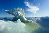 Sea Ice, Hudson Bay, Canada Photographic Print