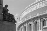 The Royal Albert Hall, London, Detail of a Decorative Frieze and Statue Photographic Print by Eric De Mere