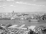 Manhattan Piers Photographic Print