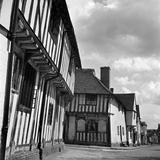 Lavenham, Suffolk, Timber Framed Buildings, Corner of Lady Street and Water Street Photographic Print by John Gay