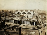 Aerial View of Pennsylvania Railroad Station Photographic Print